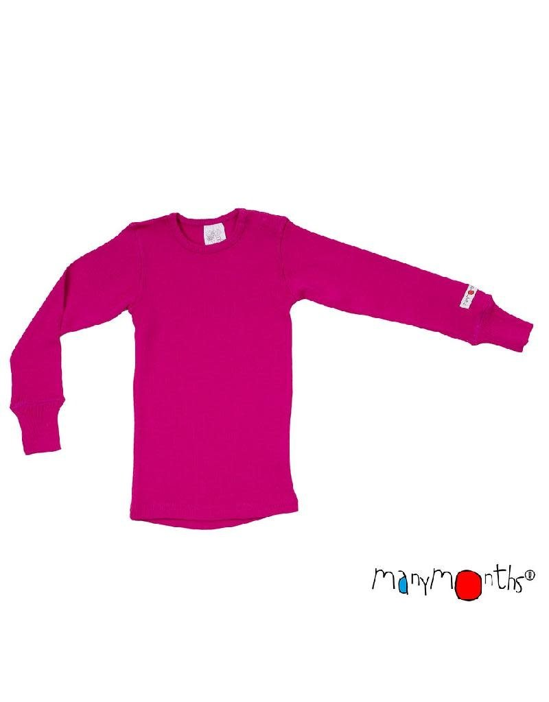 ManyMonths ManyMonths - shirt, wol, lilac rose (0-2j)