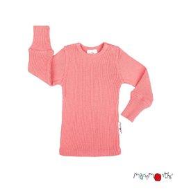 ManyMonths Shirt, wol, peach bud (0-2j)