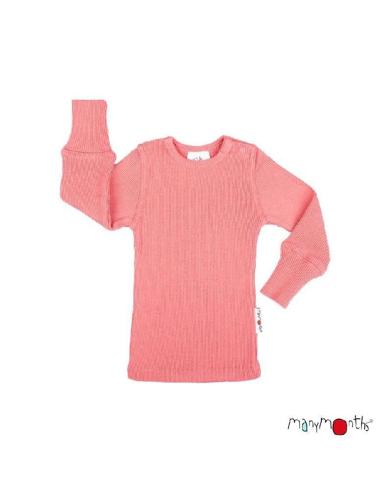 ManyMonths ManyMonths - shirt, wol, peach bud (3-16j)