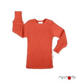 ManyMonths Shirt, wol, rooibos (3-16j)