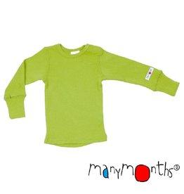 ManyMonths Shirt, wol, sweet apple (3-16j)