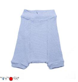 ManyMonths Shorties, wol, bright silver (0-2j)