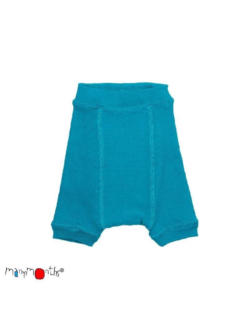 ManyMonths ManyMonths - shorties, wol, royal turquoise (0-2j)