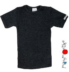ManyMonths T-shirt, foggy black (3-16j)