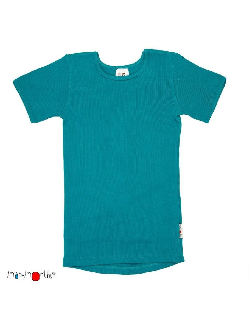 ManyMonths ManyMonths - T-shirt, wol, royal turquoise (3-16j)