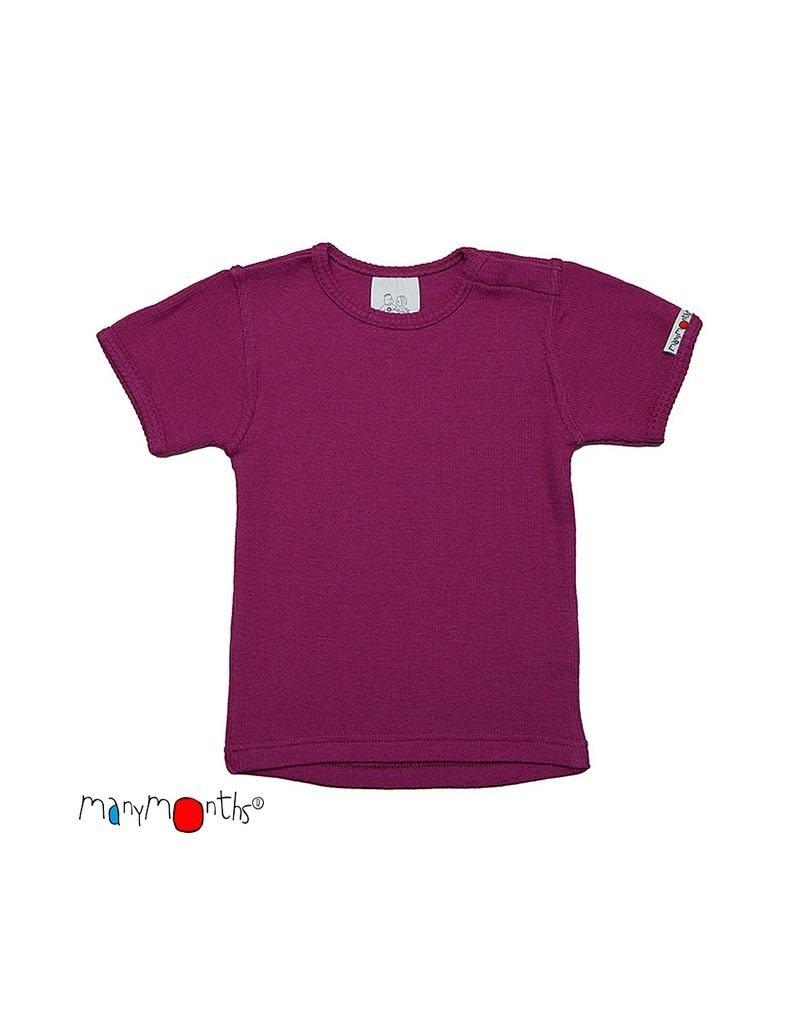 ManyMonths ManyMonths - T-shirt, wol, violet lotus (3-16j)