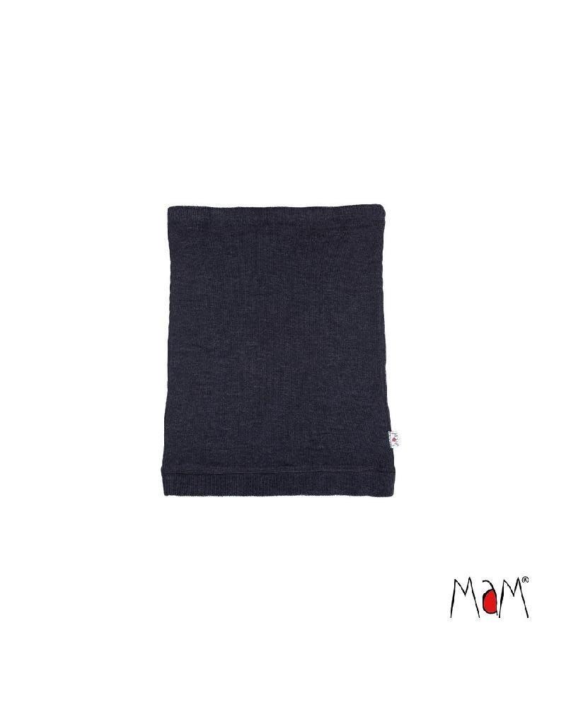 MaM MaM - neck tube, wol, foggy black