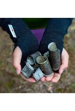 MaM MaM - handschoen, lang, wol, zonder vingers, foggy black