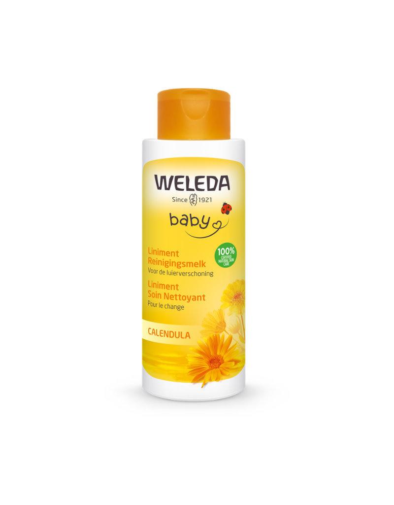 Weleda Weleda baby - calendula, liniment reiningingsmelk, 400ml