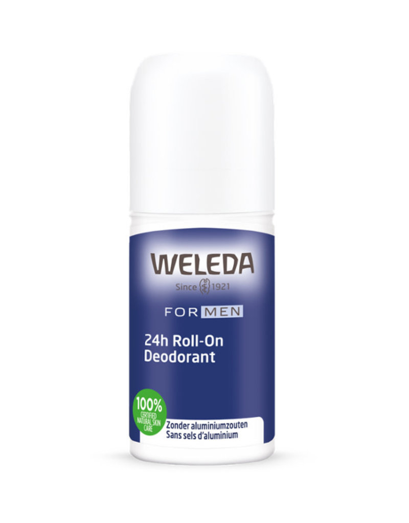 Weleda Weleda mannenproducten - 24h roll-on deodorant, 50 ml