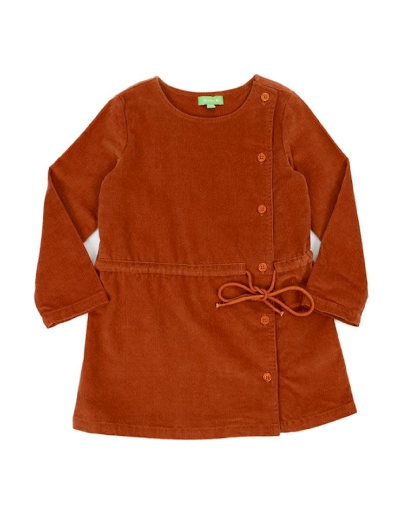 Lily Balou Lily Balou - lucille dress, biscuit brown (3-16j)