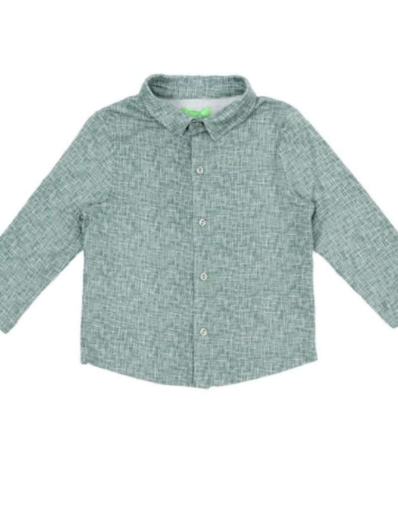 Lily Balou Lily Balou - lucas shirt, texture green (3-16j)