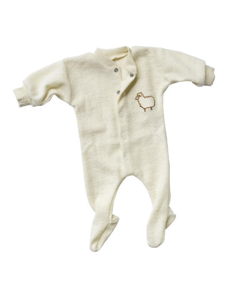 Engel Engel - one-piece pyjama, ls, wool, natural sheep (0-2j)