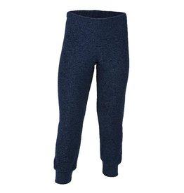Engel Pyjamabroek, wol badstof, marine (3-16j)