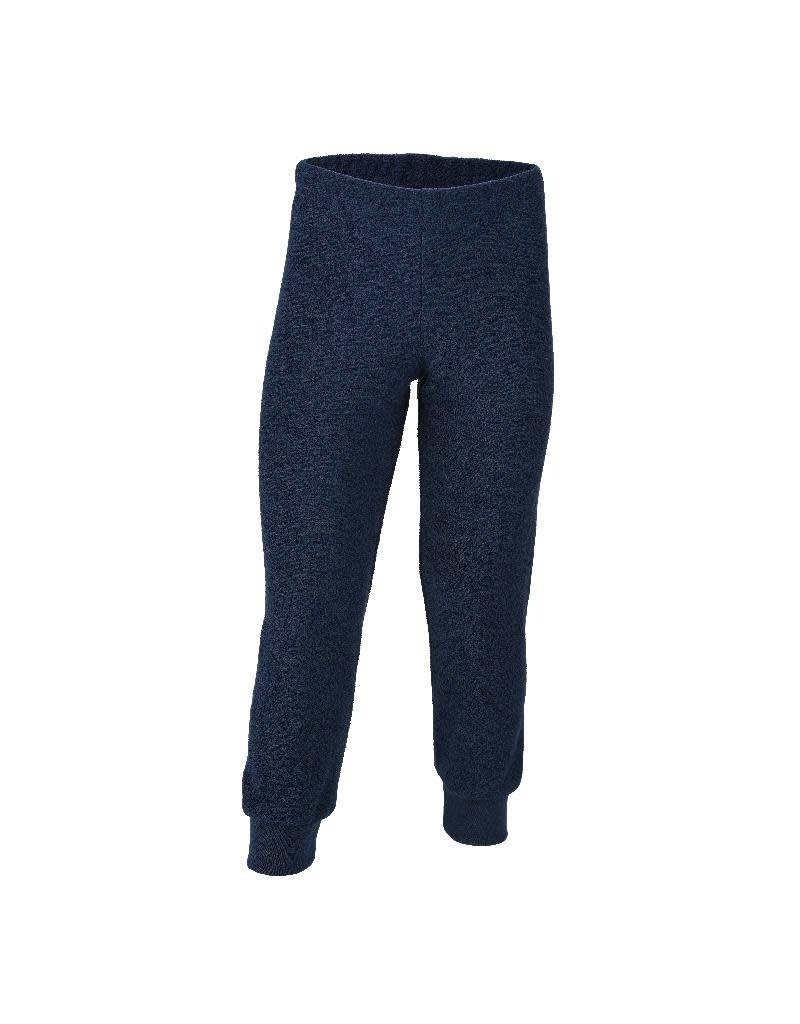 Engel Engel - pyjamabroek, ll, wol badstof, marine (3-16j)