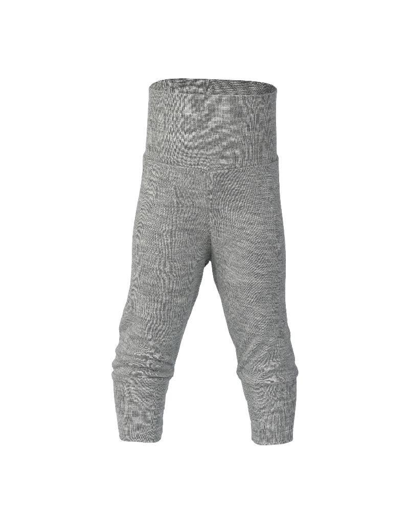 Engel Engel - broek, wol/zijde, grijs melange (0-2j)