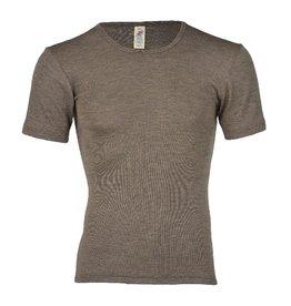 Engel Onderhemd, wol/zijde, walnoot