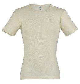 Engel Onderhemd, ss, wol/zijde, natuur