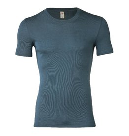 Engel Onderhemd, ss, wol/zijde, atlantic