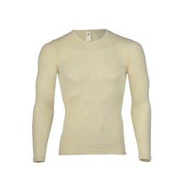 Engel Onderhemd, ls, wol/zijde, natuur