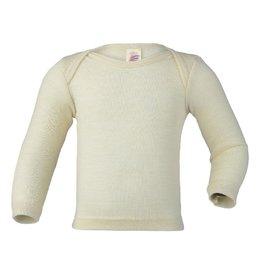 Engel Engel - onderhemd, ls, wol/zijde, natuur (0-2j)