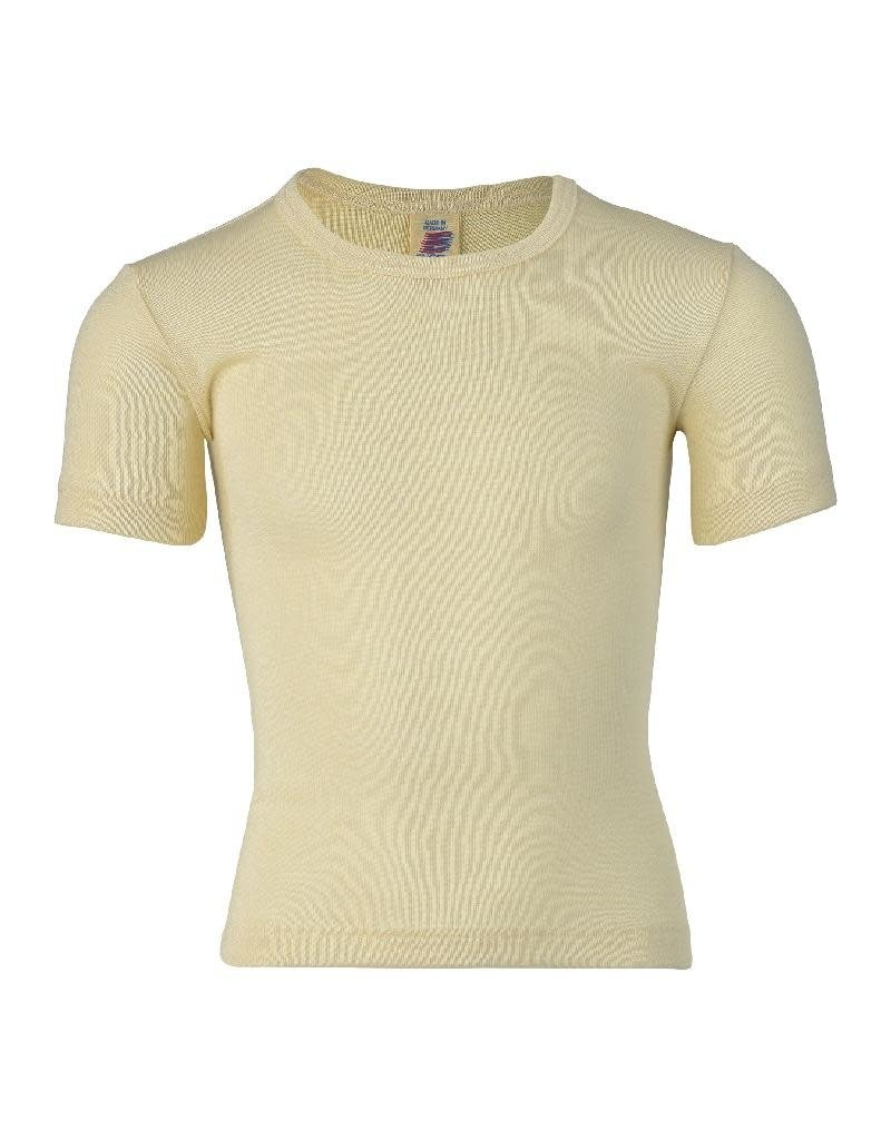 Engel Engel - onderhemd, ss, wol/zijde, natuur (3-16j)