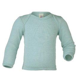 Engel Onderhemd, wol/zijde, gletsjer (0-2j)