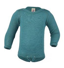 Engel Body, wol/zijde, ijsblauw (3-16j)