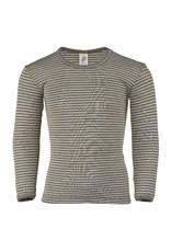 Engel Engel - onderhemd, ls, wol/zijde, walnoot/natuur (0-2j)