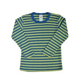 Engel Onderhemd, oceaanblauw/kiwi (3-16j)