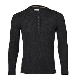 Engel Shirt met knoopjes, zwart