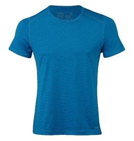 Engel T-shirt, wol/zijde, sky