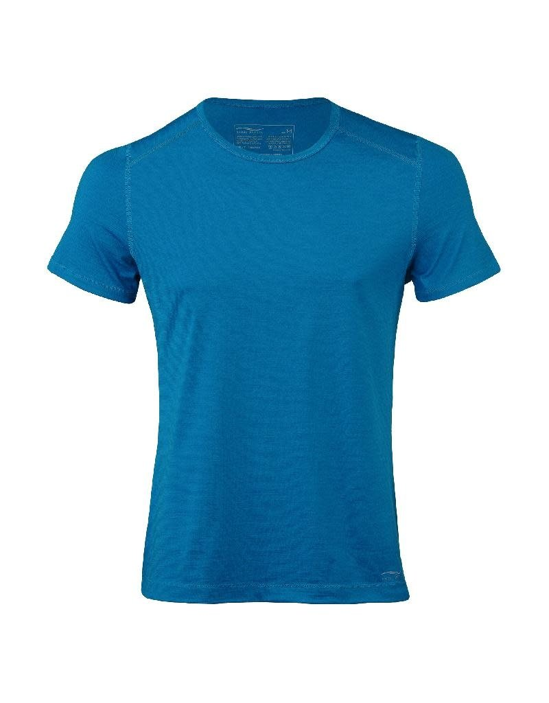 Engel Engel Man Sports - T-shirt, wol/zijde, sky