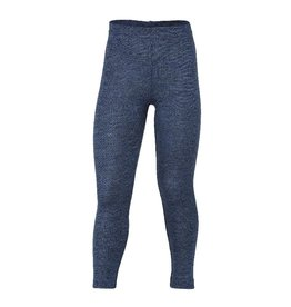 Engel Engel - legging, wol, blauw melange (0-2j)