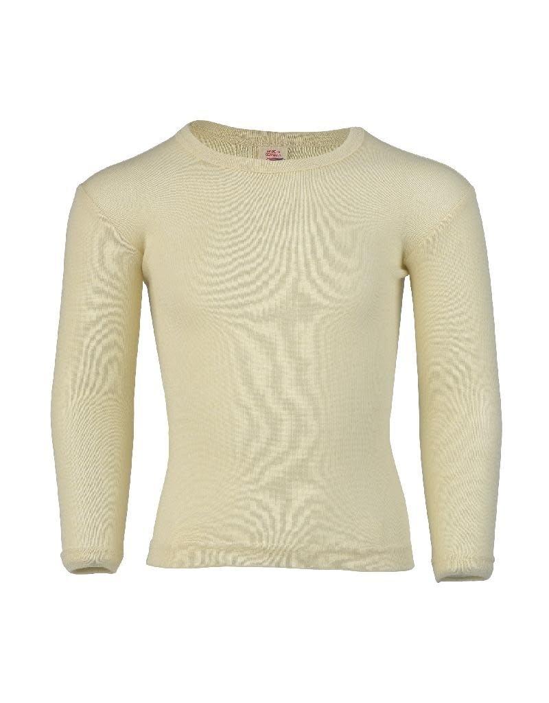 Engel Engel - onderhemd, ls, wol, natuur (3-16j)