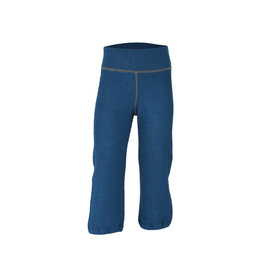 Engel Pyjamabroek, wol badstof, oceaanblauw (3-16j)