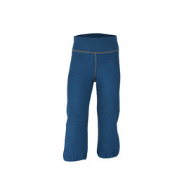 Engel Engel - pyjamabroek, ll, wol badstof, oceaanblauw (3-16j)