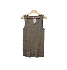 Engel Onderhemd, sl, wol/zijde, walnoot
