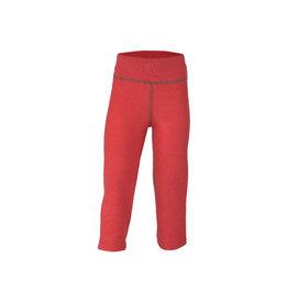 Engel Pyjamabroek, wol badstof, hibiscusrood (3-16j)