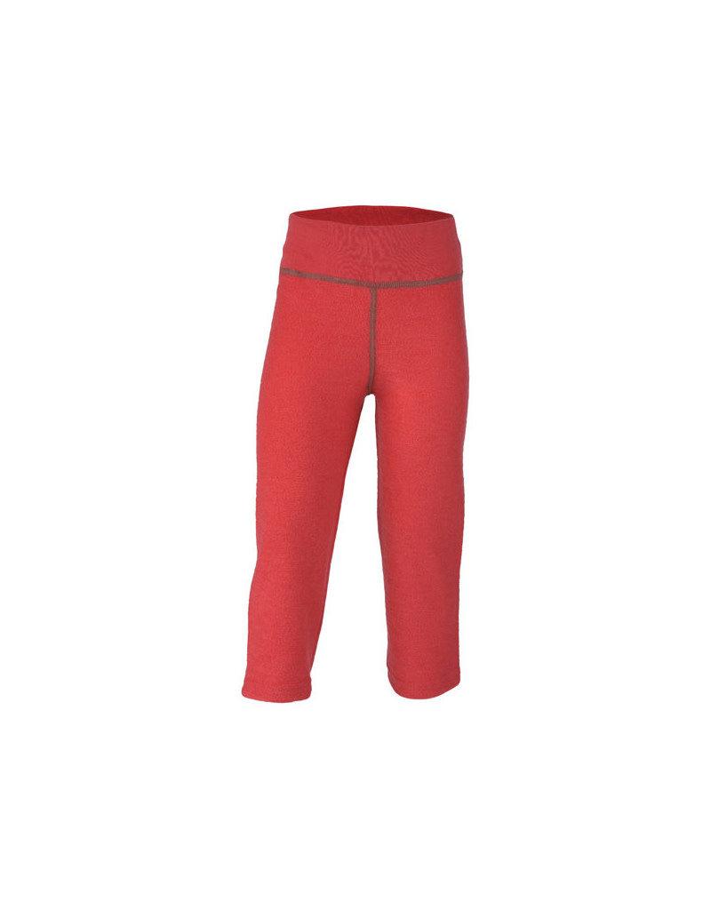 Engel Engel - pyjamabroek, ll, wol badstof, hibiscusrood (3-16j)