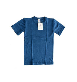 Engel Onderhemd, oceaanblauw (3-16j)