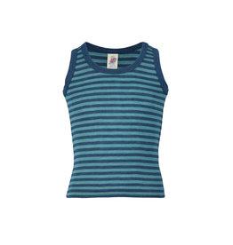 Engel Onderhemd, oceaanblauw/ijsblauw (3-16j)