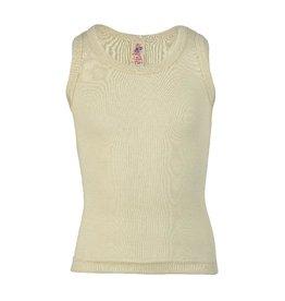 Engel Onderhemd, sl, wol, natuur (0-2j)