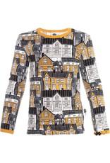 Paapii Paapii - Nooa shirt, old town, ochre/sand (3-16j)