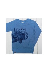Lion of Leisure Lion of Leisure - sweater, blue, dino (3-16j)