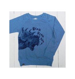 Lion of Leisure Sweater, blue, dino (3-16j)