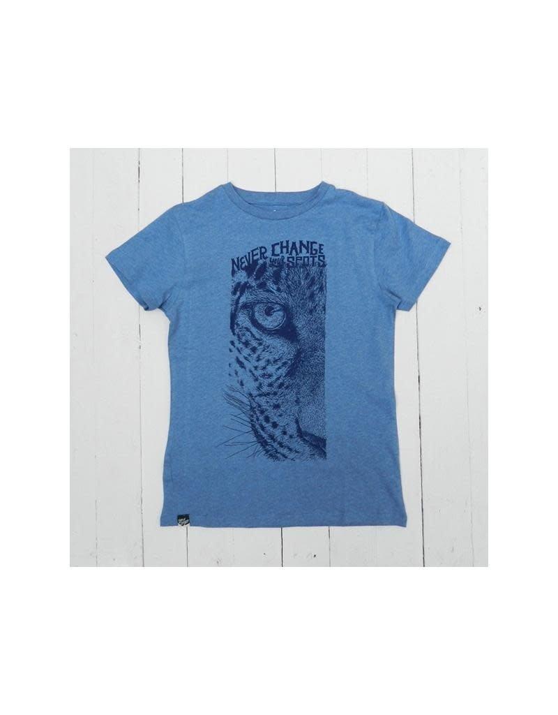 Lion of Leisure Lion of Leisure - T-shirt, blue, leopard (3-16j)