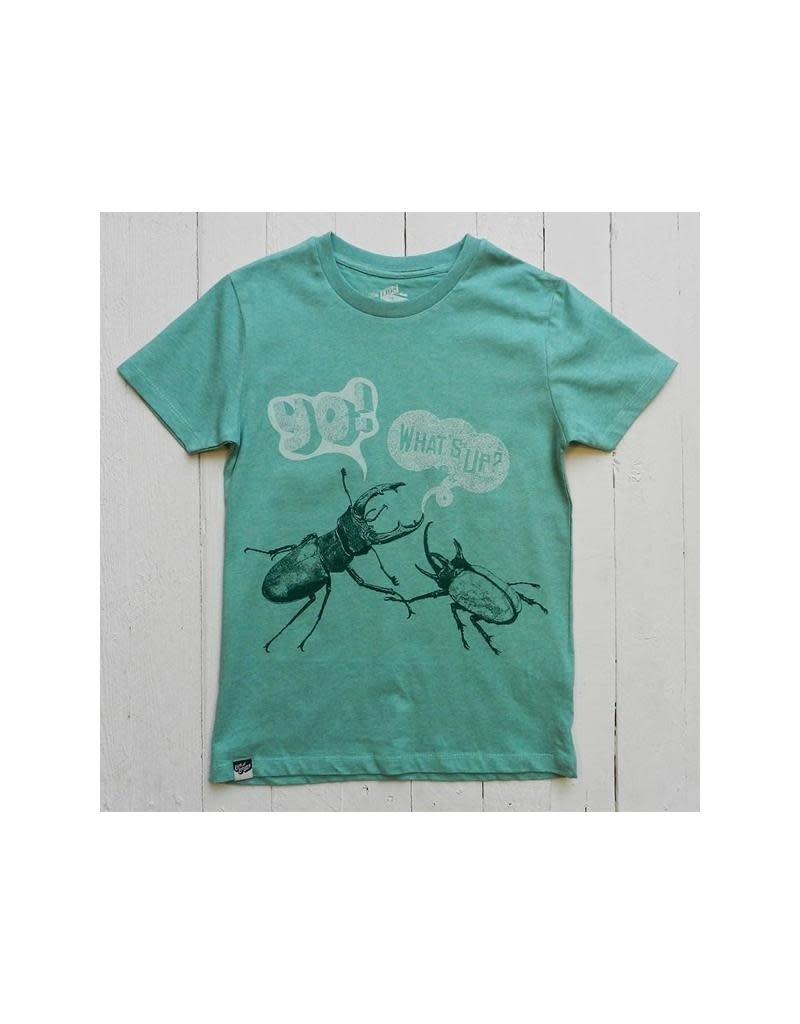 Lion of Leisure Lion of Leisure - T-shirt, green, beetles (3-16j)