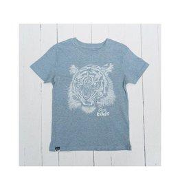 Lion of Leisure T-shirt, ice blue, tiger (3-16j)