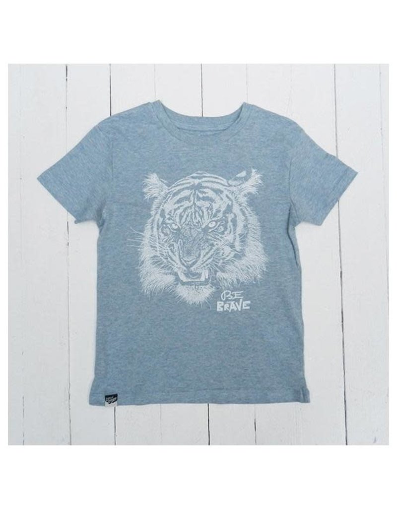 Lion of Leisure Lion of Leisure - T-shirt, ice blue, tiger (3-16j)